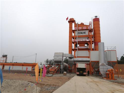 ZOOMLINE 240TPH Batch Asphalt Plant